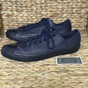 Converse All Stars Navy Blue Low